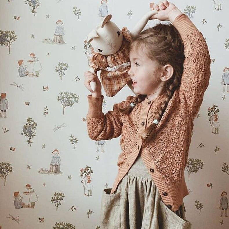 Suéter infantil para niñas 2020, cárdigan de punto para niñas, Camisa de algodón para niños, cárdigan para bebé
