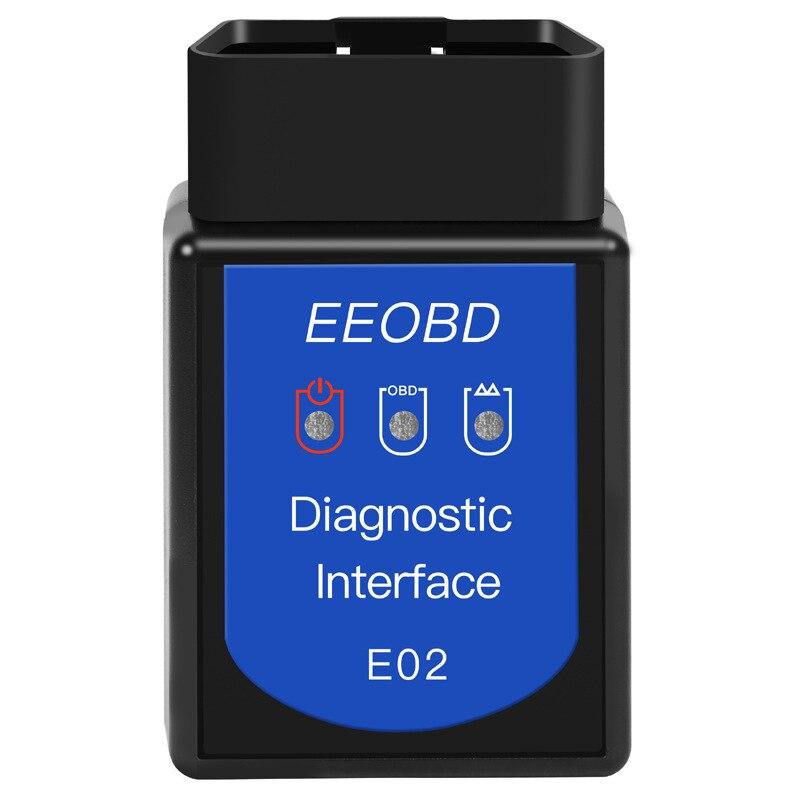 EEOBD-E02 BT 3,0 Bluetooth автомобильный двигатель детектор неисправностей ELM327 OBDII диагностическое сканирующее устройство OBD2 для смартфон оконные рам...
