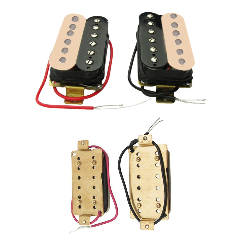 Humbucker-Pastillas de guitarra eléctrica, repuesto para guardabarros Stratocaster Les Paul Style
