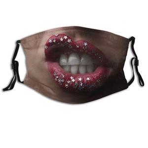Adult funny Fashion Cotton Mondmasker Mascara Facial Masques Scarf Mascherine Halloween Cosplay Mask