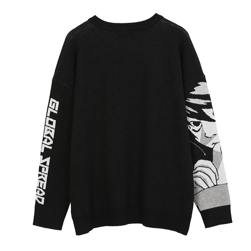 Knitted Harajuku Winter Clothes Women 2020 Oversized Sweaters Long Sleeve Top Gothic Fashion Japanese Kawaii Cartoon Streetwear enlarge