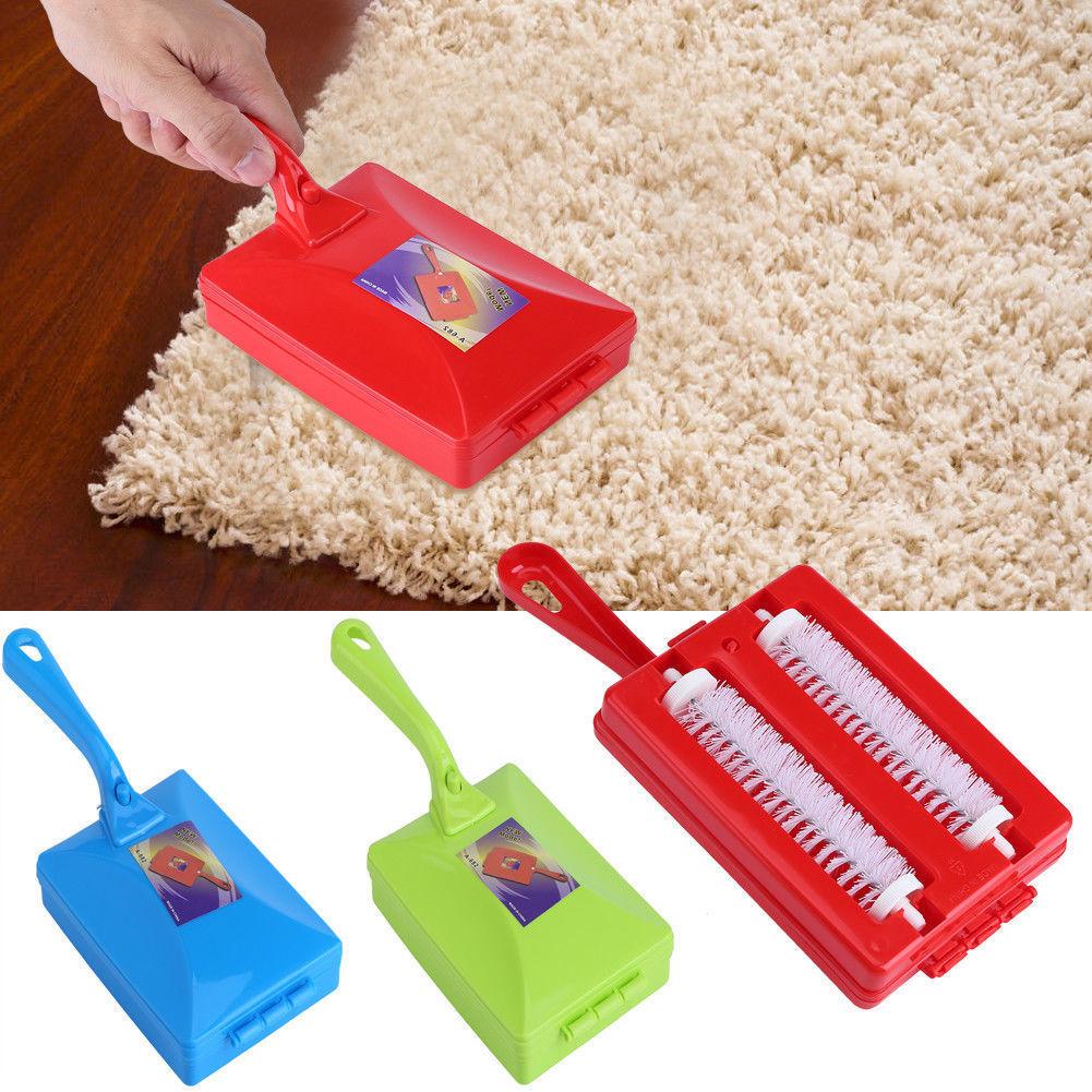 New Fashion Hand-held Carpet Debris Brush Plastic Sofa Carpet Pet Hair Brushes Multipurpose