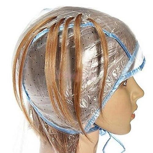1 Pc pelo gorro para teñir para colorear destacando glaseado tintado Protector de la cubierta reutilizable bricolaje hogar salón profesional para pelo herramientas