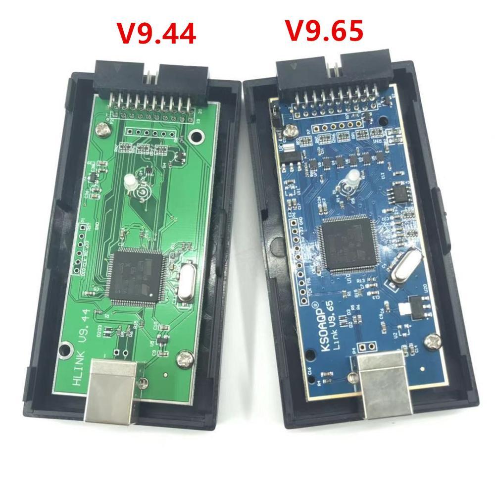 Programador emulador, compatible con ARM7, ARM9, ARM11, núcleo de Cortex-M3, ADS, IAR,STM32, interfaz JTAG, versión v9.6 de doble pulido