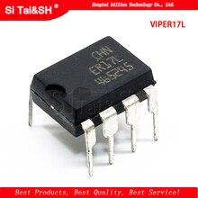1 шт. VIPER17L DIP-8 VIPER17 AC / DC преобразователь Off-Line Регулятор высокого напряжения новый оригинальный