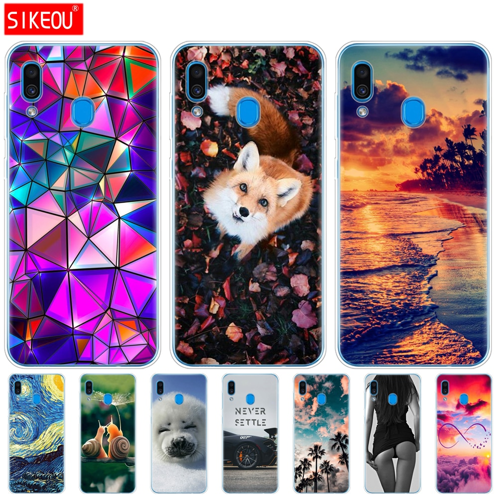 Case For Samsung Galaxy A20 Case A20E Silicone Back Cover For Samsung A20 A 20 2019 A205F A20E A202F Protective Back Cover