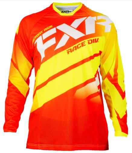 FXRNueva camiseta de Motocross FXR, chaqueta de Moto, todoterreno, camiseta de manga...