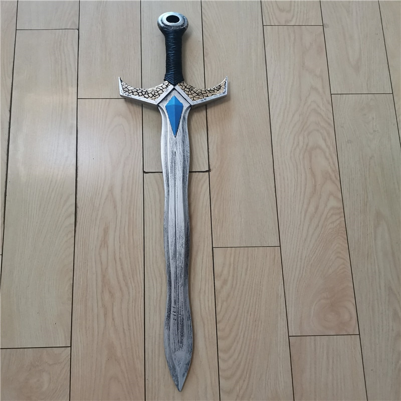 Cosplay Game Movie Anime Sapphire Sword Prop Weapon Role Playing 94cm PU  Model Halloween Gift