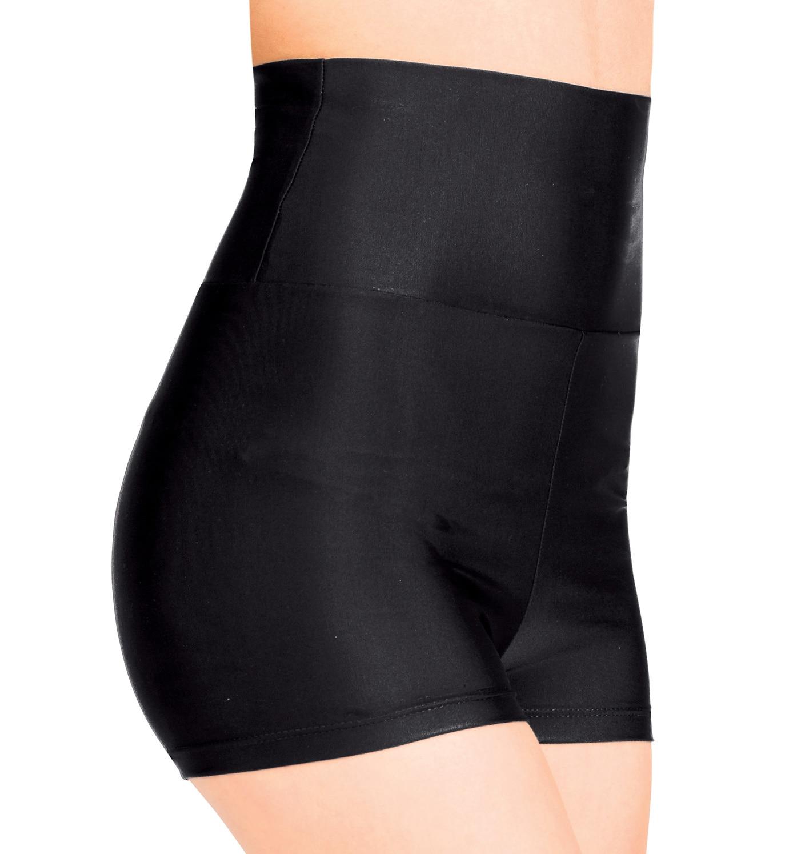 Speerise mulheres shorts magros cintura alta elastano jazz ballet dança shorts preto curto de secagem rápida respirável