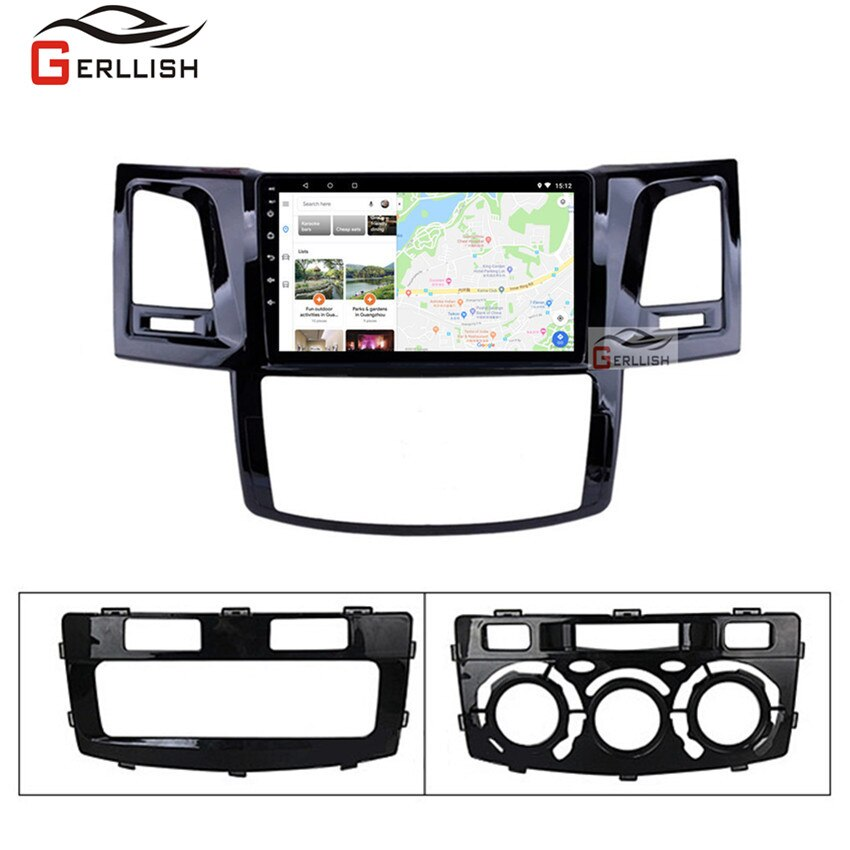 Android Für Toyotal Fortuner/HILUX Revo / Vigo 2004-2013 2014 Multimedia Stereo Auto DVD Player Navigation GPS radio