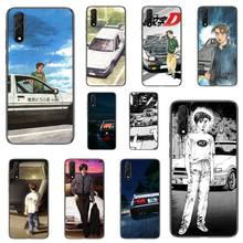 Cartoon initial d JDM Drift Phone Case For Samsung Galaxy 4 8 9 10 20 S8 S9 S10 S10E S20 Plus UITRA