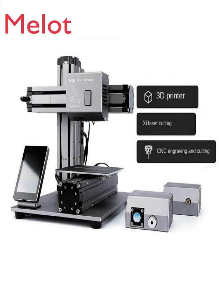 3D Printing Laser Cutting CNC Cutting Multi-Function Triple-in-One 3D Printer DIY Kit Desktop-Level High-Precision Household enlarge