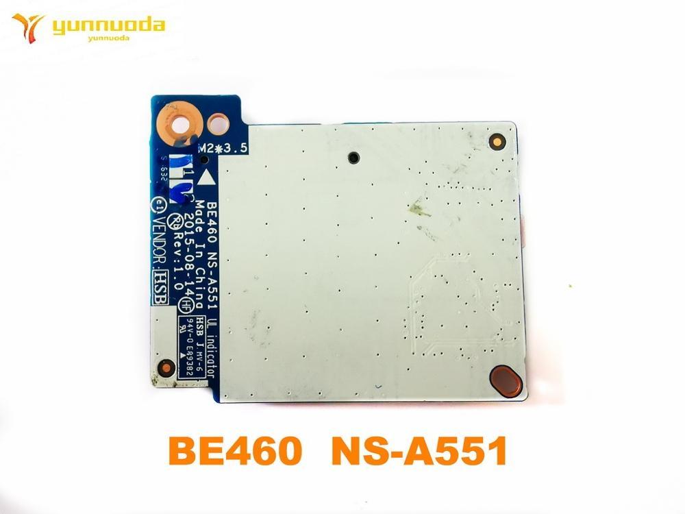 الأصلي لينوفو ثينك باد E460 E465 بطاقة قارئ مجلس BE460 NS-A551 اختبار جيد شحن مجاني