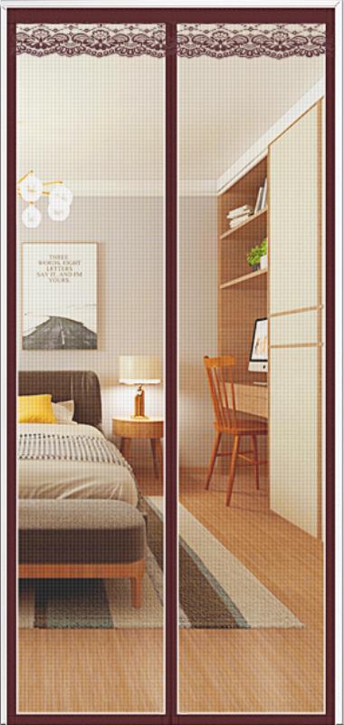 Mosquiteras magnéticas para ventana, pantalla sencilla para puerta, sala de estar, dormitorio,...