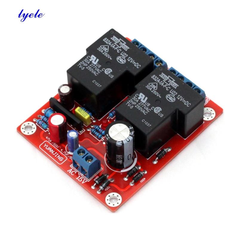 Amplificador de Áudio Placa de Proteção Lyele Alto-falante 30a