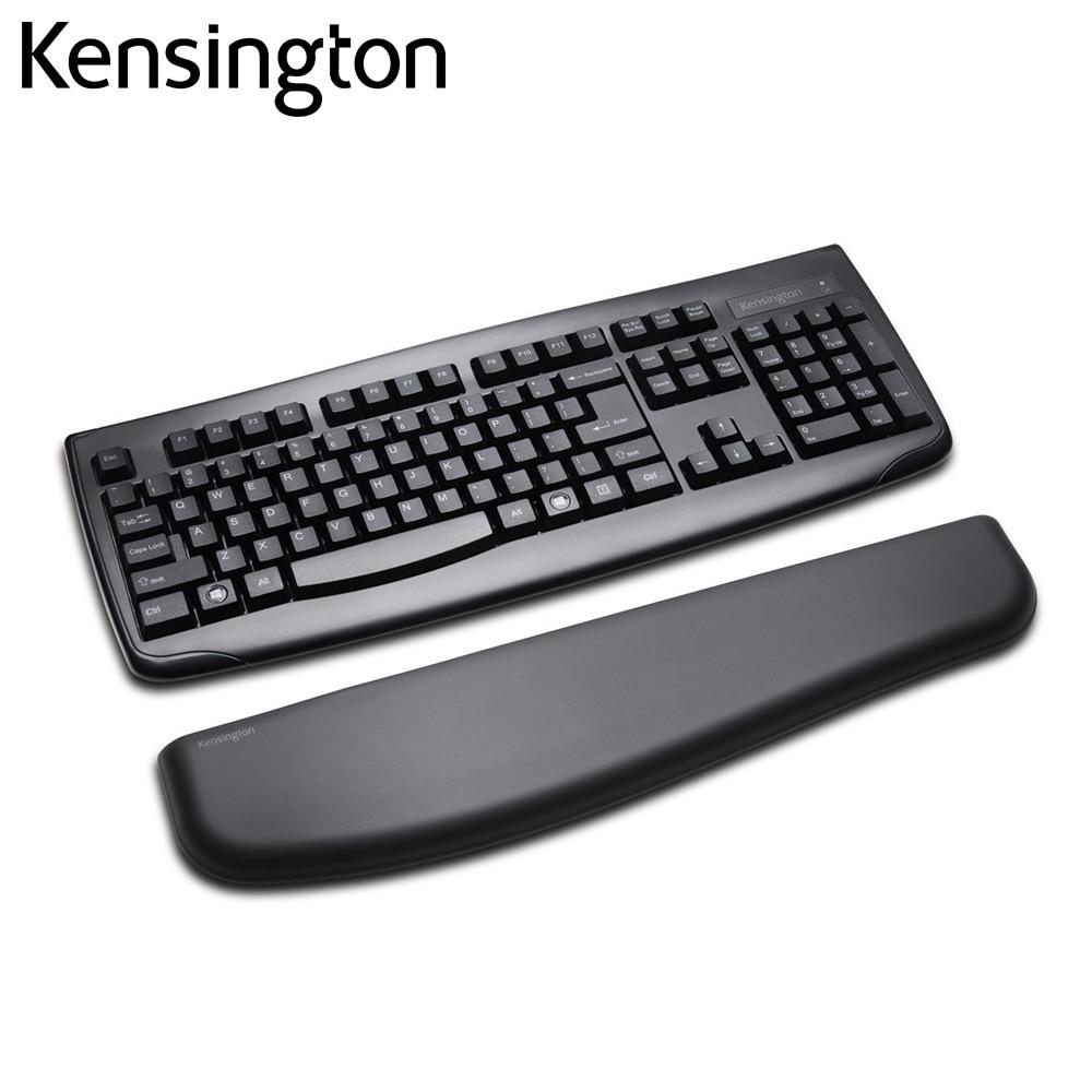 Kensington-لوحة مفاتيح ErgoSoft أصلية احترافية ، جل ، مسند للمعصم ، للوحة المفاتيح القياسية بالحجم الكامل K52799