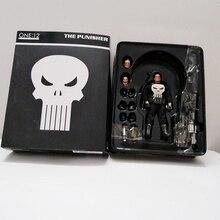 6 pouces 15cm Marvel Mezco un 12 le punisseur PVC figurine à collectionner modèle jouet