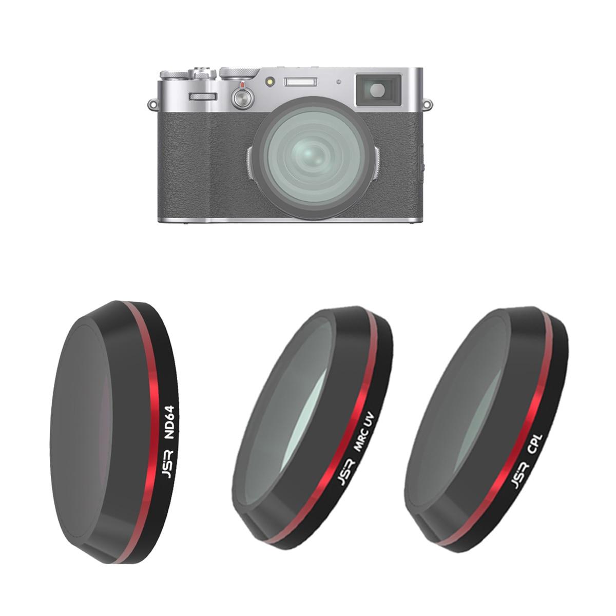 Filtro Protector de lente polarizador de densidad neutra CPL PL ND64 para cámara Fujifilm Fuji X100 X100T X100F X100V X100S