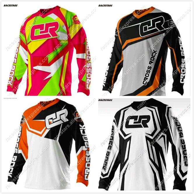 RACESTARS 2020 Wholesale Motorcycle Jerseys Moto XC Motorcycle GP Mountain Bike Motocross Jersey XC BMX DH MTB T Shirt Clothes