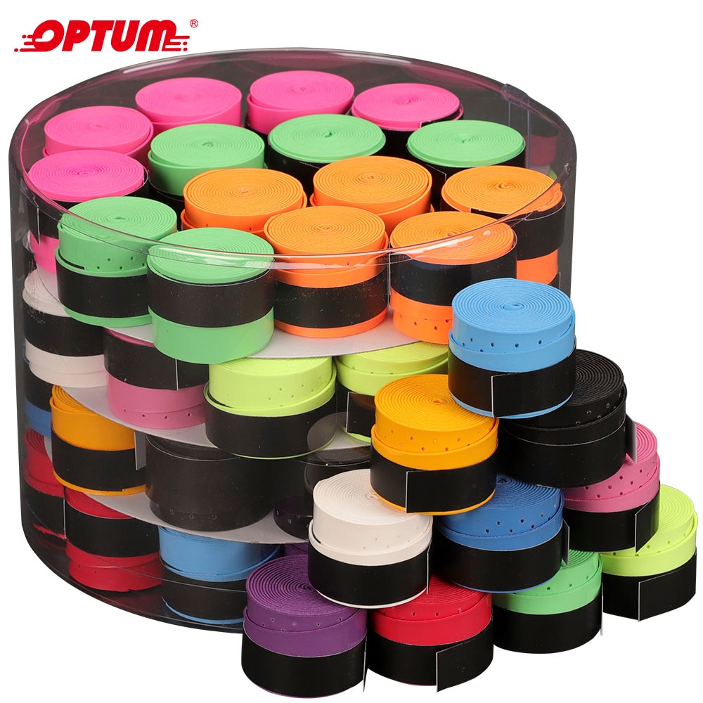60 PCS Tennis Racket Overgrips Padel Over Grips Badminton Over Grips Sweat Absorbed Wraps Tapes Grip
