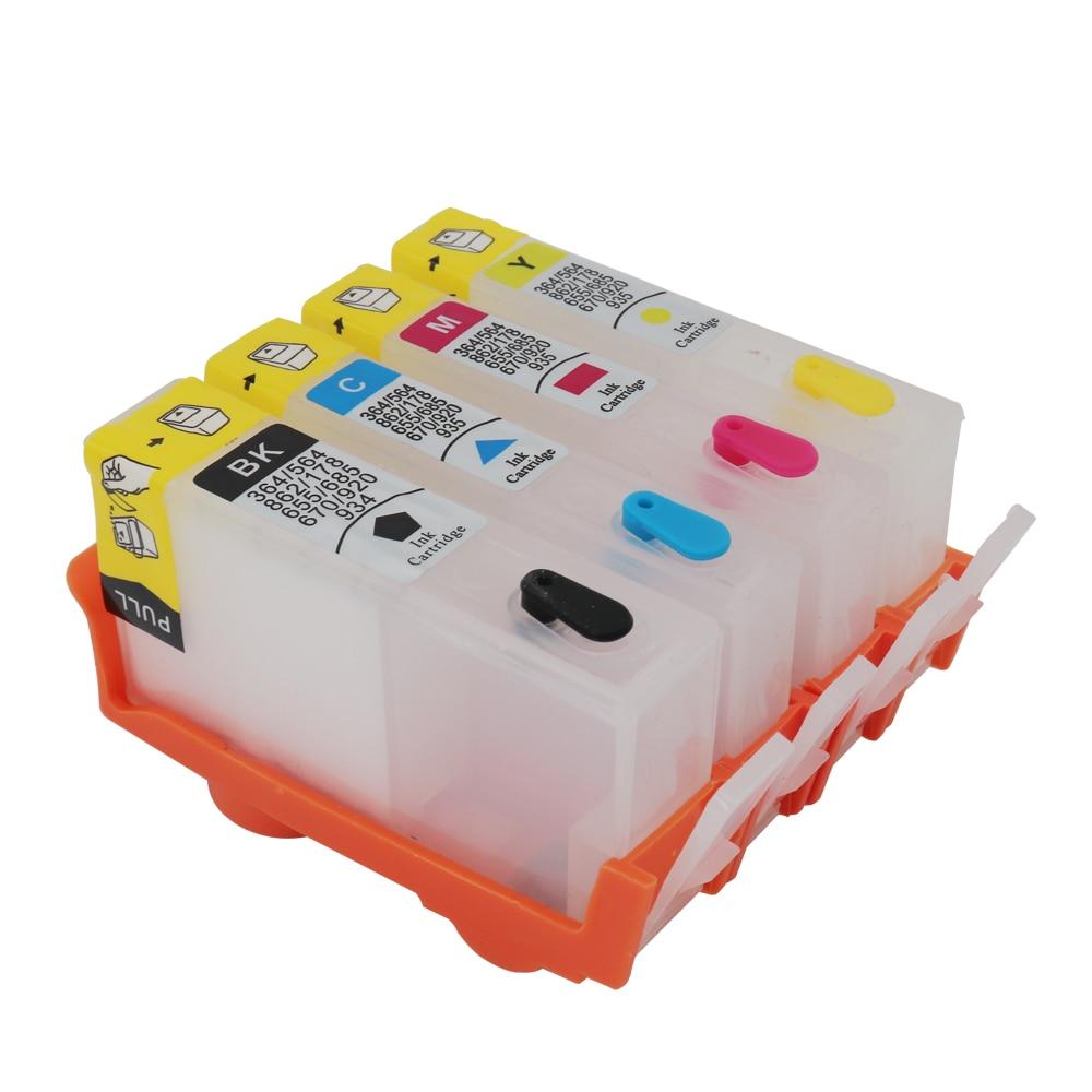 Многоразовые картриджи для HP 934 935, картриджи HP 934 935XL с чипами ARC для принтеров HP Officejet Pro 6830 6230 6835 6812