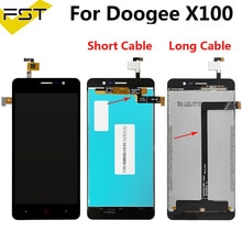 5.0''For Doogee X100 LCD Display And Touch Screen Digitizer Assembly DEXP BL150 LCD Sensor Mobile Ph