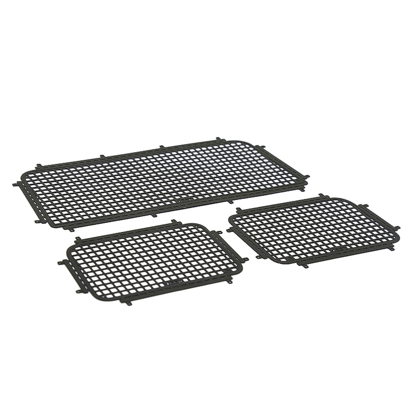 1Set Metal Window Mesh Protective Net AXIAL SCX10 III for 1/10 RC Crawler Traxxas TRX4 Trx-4 Upgrade Part enlarge