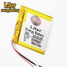 3 linie MP3/MP4/handy batterie 323036 3,7 V 350mAh lithium-polymer-batterien echte