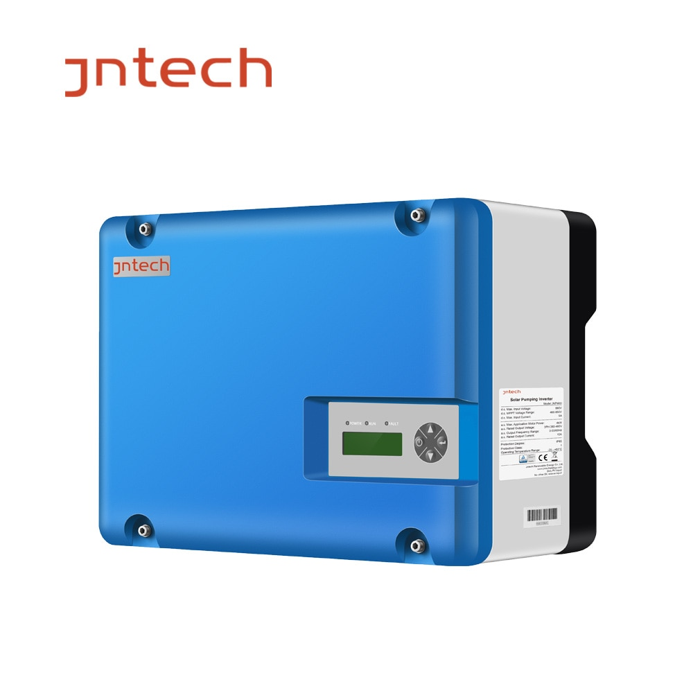 Inversor de bomba Solar JNP1K5L/2HP JNTECH 1.5kw MPPT IP65 0-50/60HZ, voltaje de salida nominal 220-240Vac inversor solar trifásico