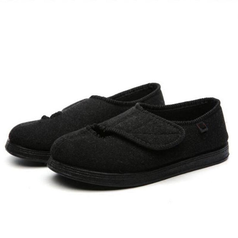 حذاء قابل للتعديل لمرض السكري في منتصف العمر للرجال ، حذاء متورم ، لفصلي الربيع والصيف