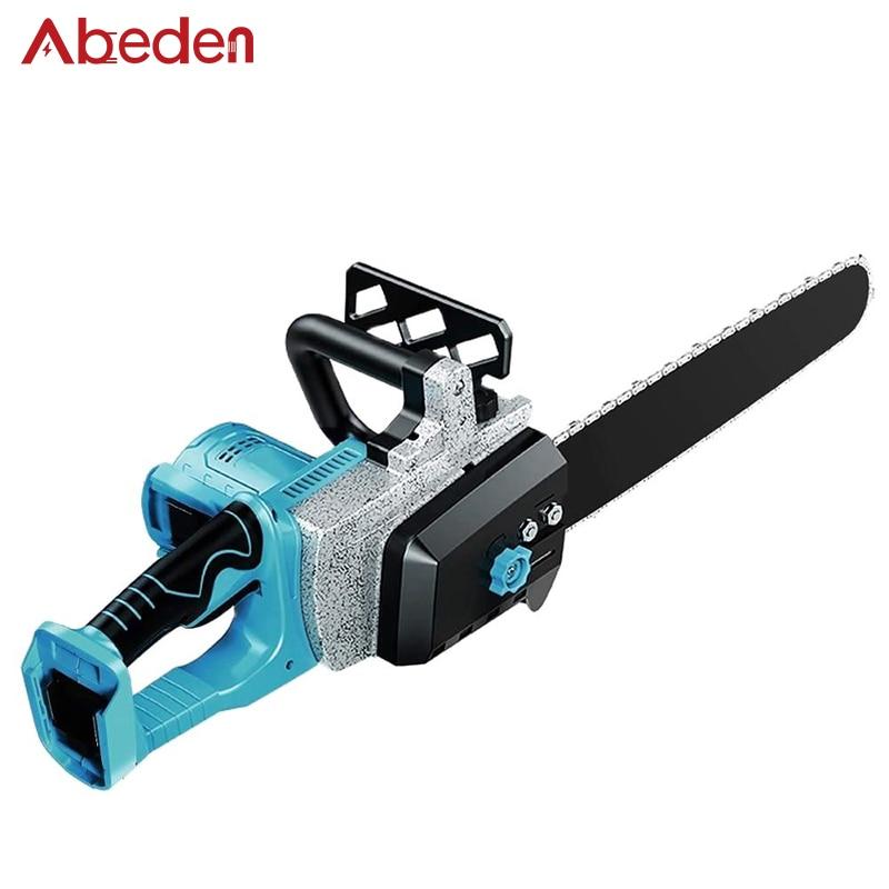 Abeden-منشار كهربائي بدون فرش لماكيتا ، 18 فولت ، BL1830 ، BL1840 ، BL1850B ، منشار سلسلة البطارية ، أداة نجارة الحديقة