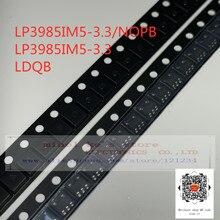 [10 pcs/1 lot] 100% Nieuwe originele: LP3985IM5-3.3/NOPB LP3985IM5-3.3 LDQB-IC REG LINEAIRE 3.3V 150MA SOT23-5/SC-74A/SOT-753