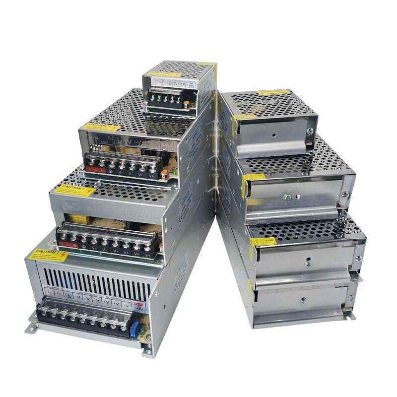 ac dc 5 12 24 v volt power supply adapter transformers 220v to 5v 9v 12v 24v led power supply adjustable 1a 2a 3a 5a 10a driver AC 220V To 24V DC Power Supply 24V 1A 2A 3A 5A 6A 8A 10A 15A 20A Alimentation Led Transformers 24V Power Supply 220V To 24 Volt