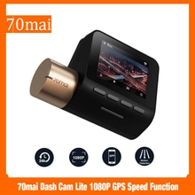 70mai داش كام لايت 1080P غس سرعة وظيفة 70 ماي كام لايت 24H شاشة للمساعدة في ركن السيارة بسهولة 130FOV للرؤية الليلية 70MAI واي فاي جهاز تسجيل فيديو رقمي للسيارات