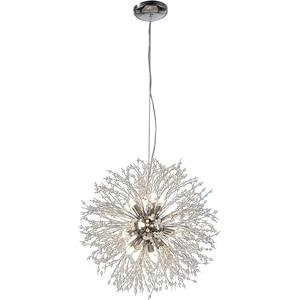 Chandeliers Firework LED Vintage Metal Crystal Pendant Lighting Ceiling Light for Dining Rooms Living Room Bedroom