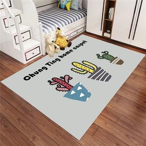 New Desig  Cartoon Style Carpet For Living Room Soft Carpet Kids Room Cute Rugs For Bedroom  Mat/rug CF