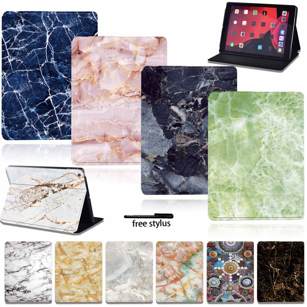 wood grain pu leather tablet cover for apple ipad air 1 ipad 5 stand case for ipad air 2 ipad 6 screen protector stylus pen Tablet Case for Apple Ipad 8/iPad Air 4/IPad 2/3/4/Mini 1/2/3/4/5 /iPad Air 1/2/3/IPad Pro Pu Leather Anti-fall Cover Case + Pen