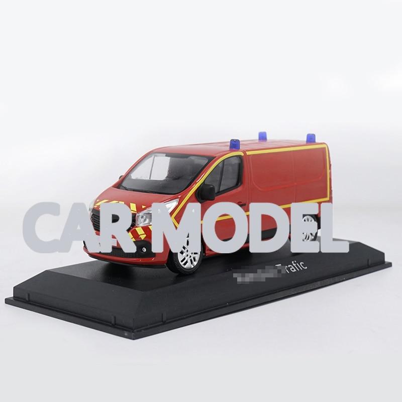 Vehículos de juguete de aleación de escala 143 NOREV Renault Trafic, modelo de coche de juguete para niños, auténticos juguetes originales para niños