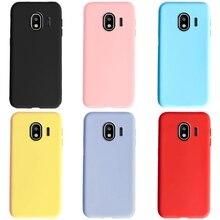 Силиконовый чехол ярких цветов для Samsung Galaxy Grand Prime Pro J250F, чехол для телефона Samsung J2 2018 J2 Core J260F, чехлы-бампер