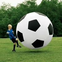 giant football toy air sealed inflatable soccer ball