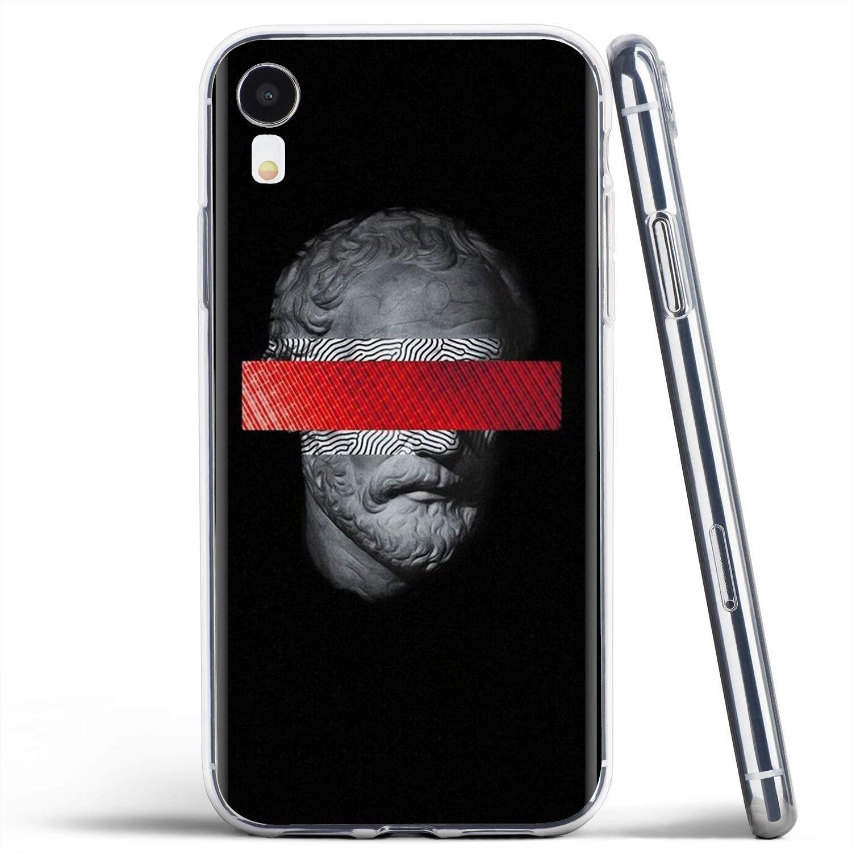 Funda de teléfono de silicona con póster Medusa Vaporwave Glitch Art para Xiaomi Redmi 4A 7A S2 Note 8 3 3S 4 4X 5 Plus 6 7 6A Pro pocofone F1