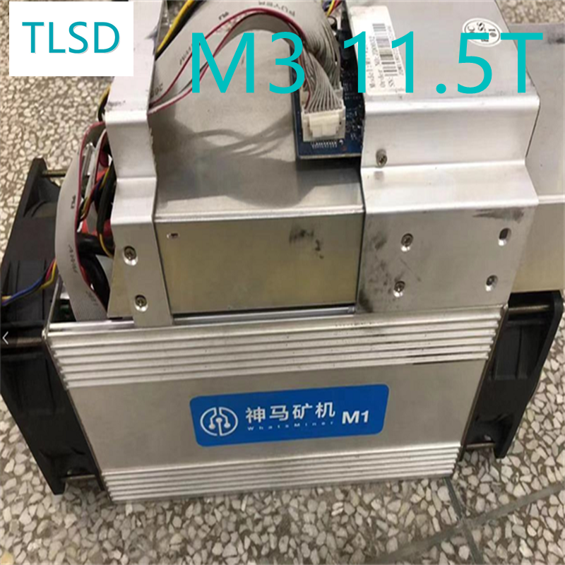 Б/у Биткоин-Майнер TLSD M3 11.5th/S M3 с блоком питания б/у M3