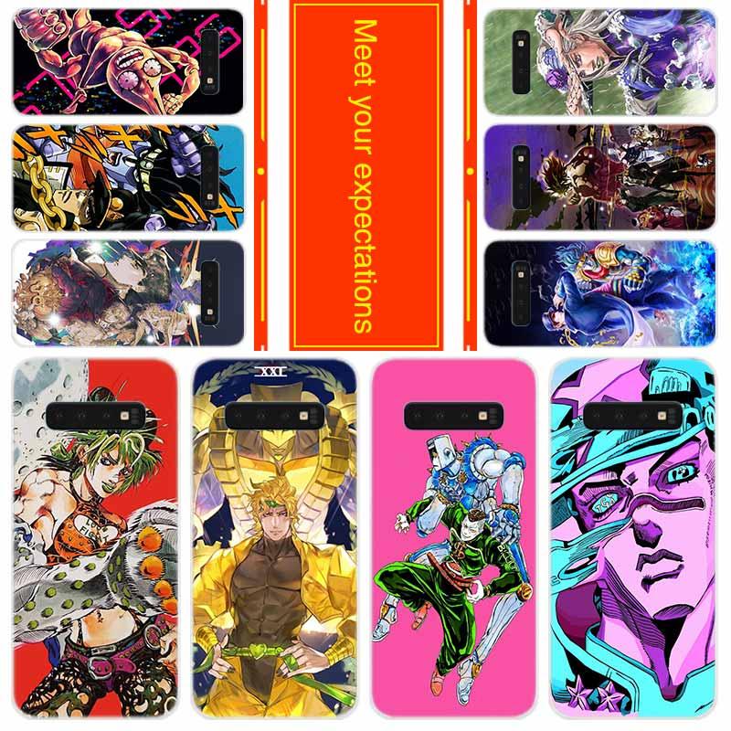 Чехол для телефона Samsung Galaxy S20 S11 S10 S9 S8 Plus, чехол S7 s6 Edge s10e S10lite 5G JoJos Bizarre Adventure JoJo Anime