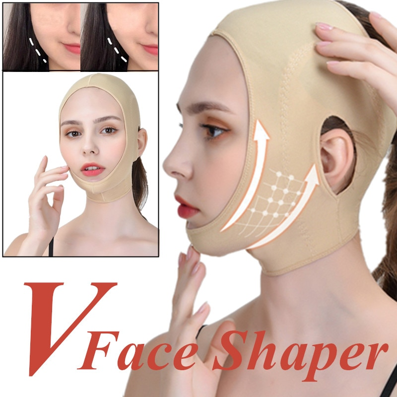 aliexpress.com - Thining 3D Beauty Women Makeup V-Line Seamless Breathable Infrared Shaping Bandage Face Lifting Mask