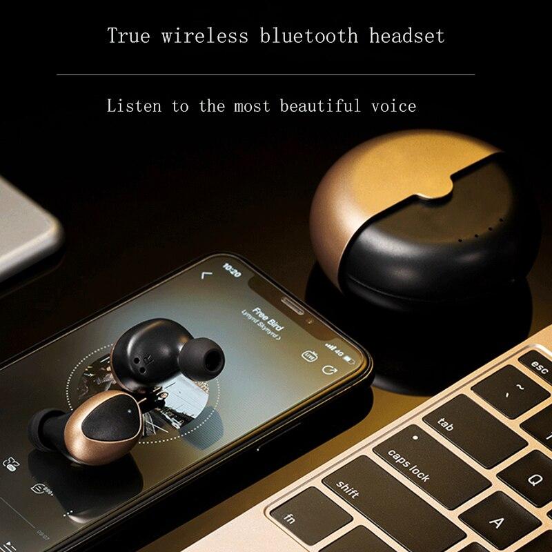 Bluetooth 5.0 fones de ouvido sem fio 9d alta fidelidade subwoofer esporte fone controle toque com microfone redução ruído 2021 novo