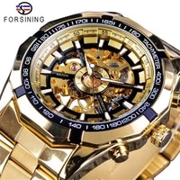 hot selling european and american mens fashion trend watches automatic mechanical watches