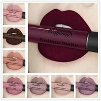 liquid lipstick lip gloss matte non sticky cup long lasting effect lip paint