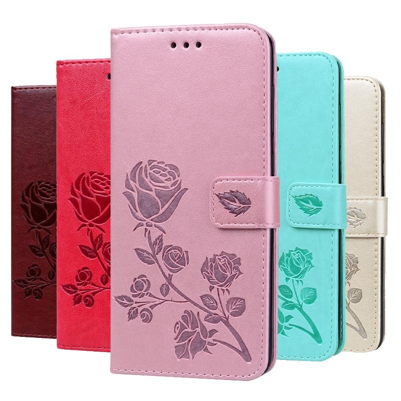 Rosa carteira de Couro Caso Para Xiaomi Redmi S2 3 4 4A 4X 5A 5 Plus Y1 Lite Y2 Y3 S2 3X 3 S 6 7 K20 Pro 6A 7A 8 8A IR Cobertura Coque