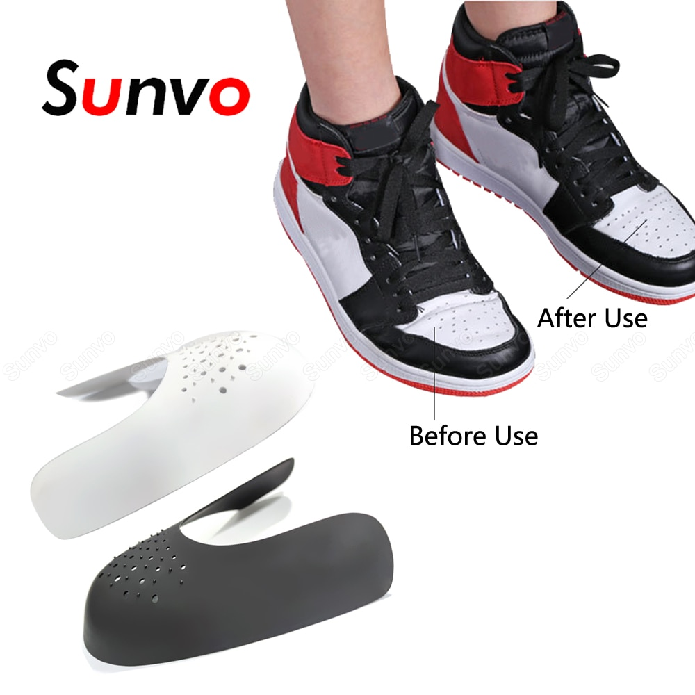 AliExpress - Dropshipping Anti Crease Protector Shoes Shields Sneakers Anti Wrinkle for Shoe Protection Sport Support Toe Cap Guard Stretcher