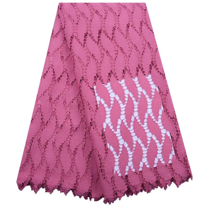 Африканские сухие кружевные ткани 2020 Высокое качество гипюр шнур кружева материал швейцарская вуаль кружева в Швейцарии для платья